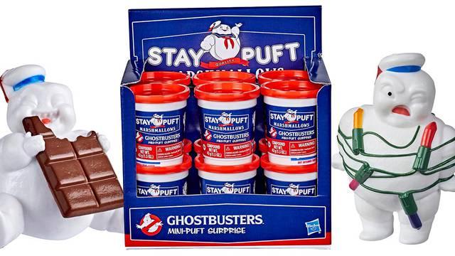 Hasbro reveals Ghostbusters: Afterlife Mini-Pufts Surprise figure line
