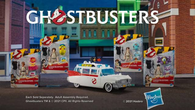 Hasbro's Ghostbusters: Afterlife Fright Feature figures receive a retro-style toy commercial + pre-orders now available
