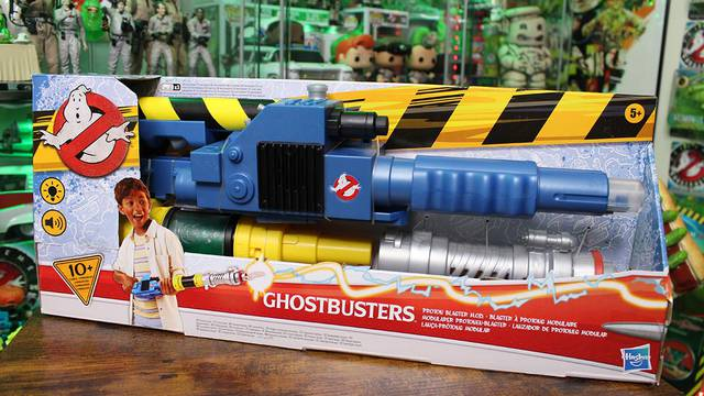Hasbro's Ghostbusters Proton Blaster M.O.D. (unboxing + review)