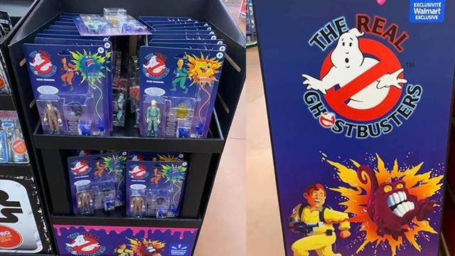 Hasbro's Real Ghostbusters Kenner Classics now available in Canada!