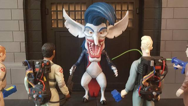 Here's your chance to finally own a Real Ghostbusters Boogieman action figure!