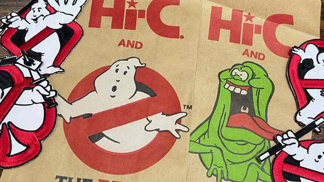 """Hi-C Ecto Cooler lunch bags + """"magic"""" Ghostbusters patches! (Fan Mail Friday)"""