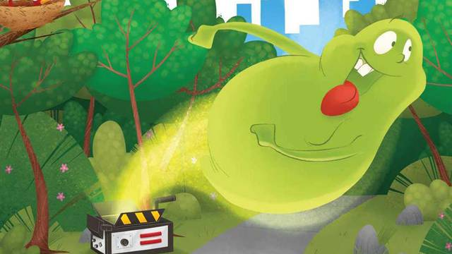 Hit the town with Slimer in new children's book!
