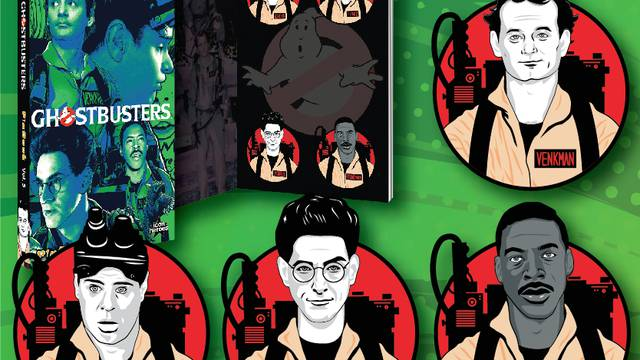 Icon Heroes reveal new Ghostbusters pinbook