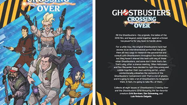 IDW Ghostbusters: Crossing Over Trade Paperback Book Review