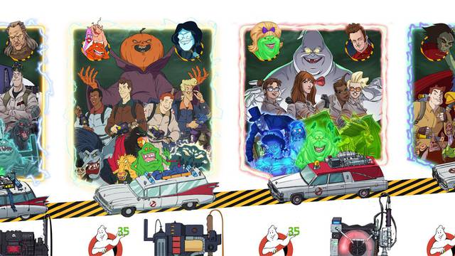 IDW Publishing announce four issue Ghostbusters comic event for April 2019