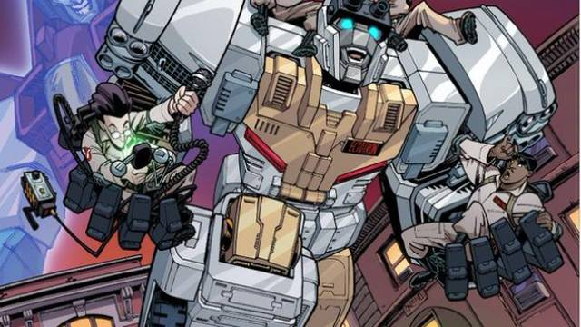IDW Transformers x Ghostbusters Art by Nick Roche Revealed in Full - seibertron.com