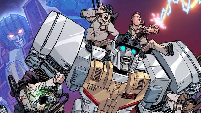 IDW's Transformers and Ghostbusters Unite Through an Unlikely Autobot - CBR - Comic Book Resources