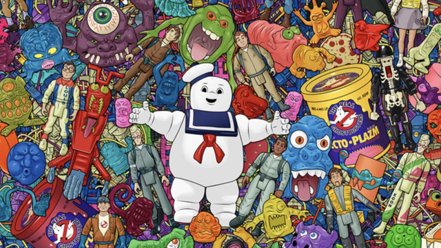 """Incredible """"Real Ghostbusters"""" Print Collects ALL of the Toys! - Bloody Disgusting"""