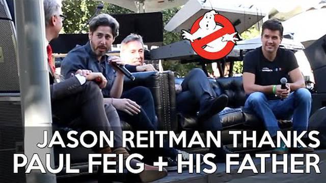 "Jason Reitman: ""Mein Dank gilt auch Paul Feig!"""