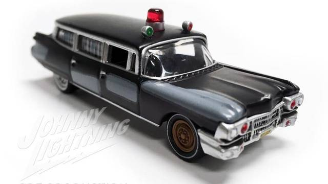"""Johnny Lightning announce 1/64 scale Ghostbusters """"Project Pre-Ecto"""""""