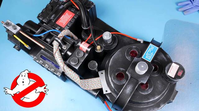 Learn how to make a Ghostbusters Proton Pack out of a foam floormat!