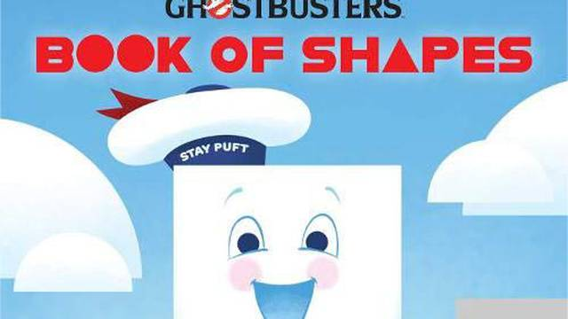 Learn shapes with the Stay Puft Marshmallow Man in new Ghostbusters children's book