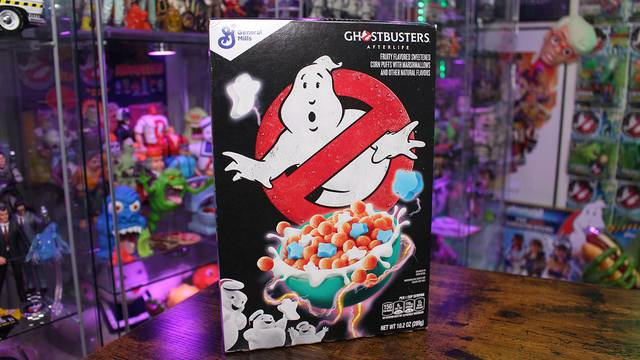Let's try Ghostbusters: Afterlife cereal! (REVIEW)