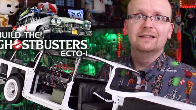 LIGHTS + FRAME! – Build the Ghostbusters Ecto-1 – Part 67-70