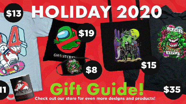 LIMITED TIME SALE! Save up to 35% off the entire Ghostbusters News store!