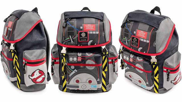 Loungefly's Ghostbusters Proton Pack Backpack launches next week + pre-order now!