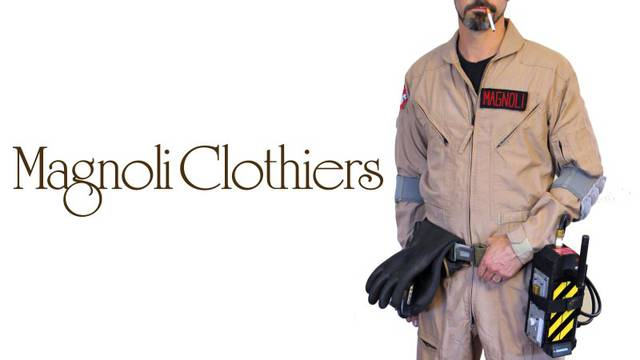 "Magnoli Clothiers set to release Ghostbusters inspired ""paranormal jumpsuits"""