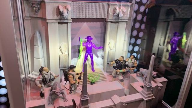 Mattel officially confirms WWE / Ghostbusters crossover figures at SDCC