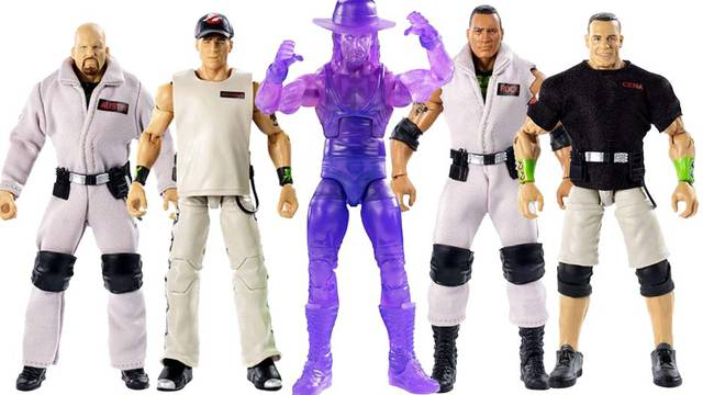 Mattel releases in-package shots of WWE/Ghostbusters action figure line!