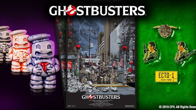 Mondo set to release limited Ghostbusters posters, tiki mugs, and enamel pins tomorrow!