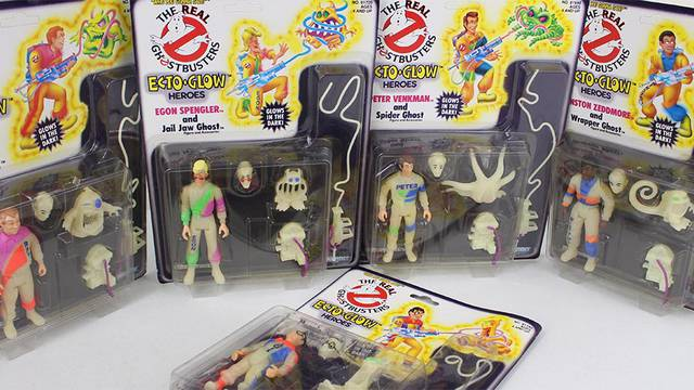 My Real Ghostbusters holy grail! Ecto Glow Heroes!!!