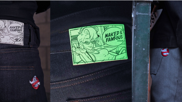Naked & Famous Denim Ghostbusters Apparel