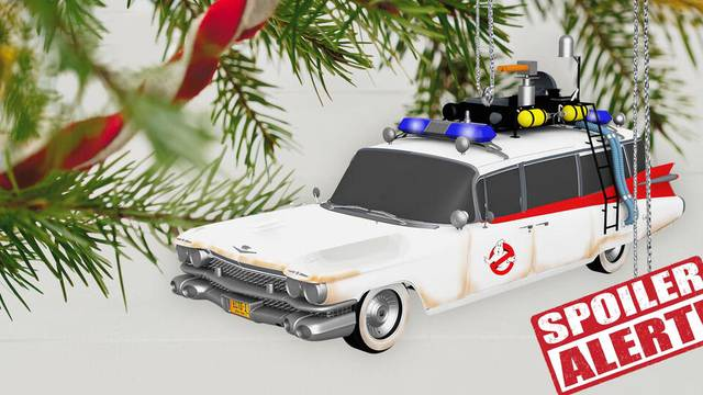 New Ecto-1 Hallmark ornament gets release date + Ghostbusters: Afterlife SPOILER!