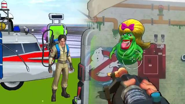 New footage of Ghostbusters World includes finding, busting and capturing a ghost