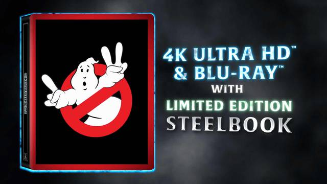 New Ghostbusters 4K Blu-ray out today + update on availability and region coding