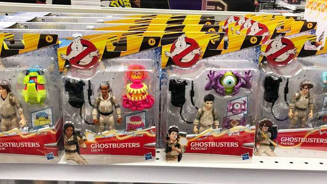 New Ghostbusters: Afterlife Fright Feature toys spotted on store shelves!