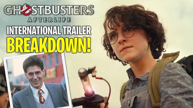 New Ghostbusters: Afterlife international trailer BREAKDOWN!