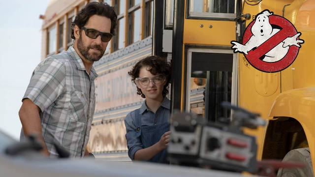 New Ghostbusters: Afterlife photos are here, Paul Rudd and Mckenna Grace prepare to open a Ghost Trap