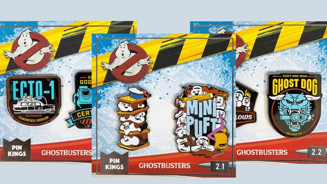 New Ghostbusters: Afterlife pins are now available from Numskull Designs