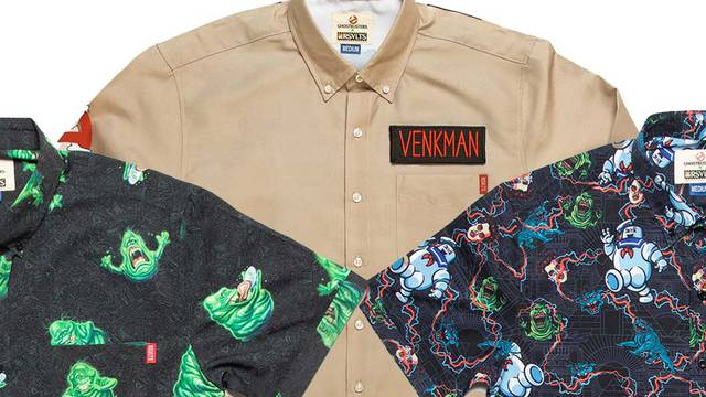 New Ghostbusters clothing line launched by RSVLTS