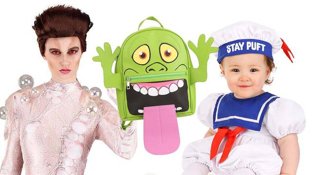 New Ghostbusters Gozer and Stay Puft costumes + Slimer Trick-or-Treat Tote Bag now in stock