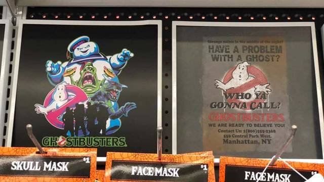New Ghostbusters items found at Five Below