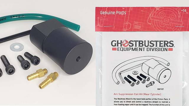 New Ghostbusters Neutrona Wand parts now available from Mack's Factory