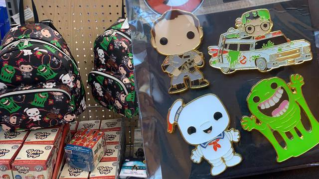 New Ghostbusters pins spotted at Walmart + more!