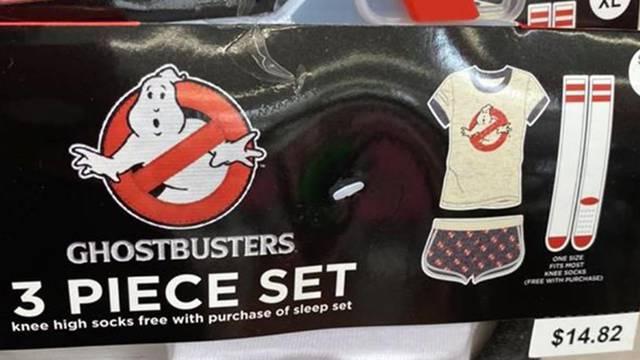 New Ghostbusters sleepwear spotted at Walmart