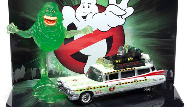 New Ghostbusters Slimed Ecto-1A coming later this year from Johnny Lightning