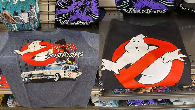New Ghostbusters t-shirt found at Kroger