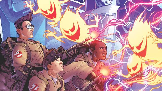 New IDW Transformers / Ghostbusters Previews - Megatron Talks With Gozer - seibertron.com