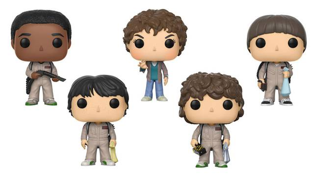 New STRANGER THINGS Funko Toys Go GHOSTBUSTERS