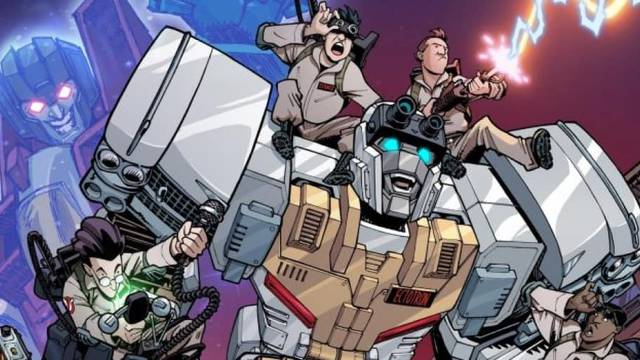 NEW WATCH: Transformers/Ghostbusters Cause Your Childhood Demanded It - Comic Watch