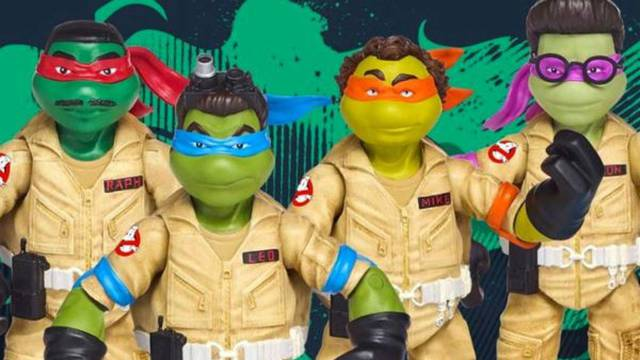 Ninja Ghostbusters Fuse Ninja Turtles and Ghostbusters Because Why Not?