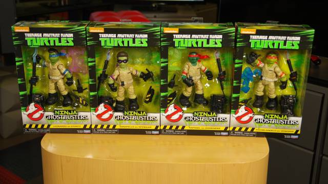 Ninja Ghostbusters: It's Just Two Things!