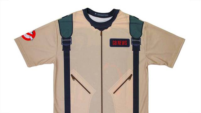 Official Ghostbusters store offering personalized uniform tees!