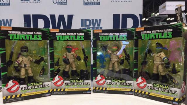 Playmates TMNT x Ghostbusters Action Figures: Parapsychologists in a Half Shell