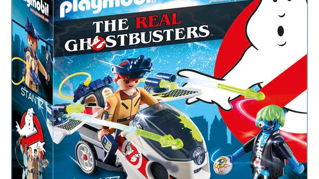Playmobil's New The Real Ghostbusters Mission Packs Arrive This April